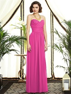 Dessy Collection Style 2896: The Dessy Group Long Maid of Honor Dress #1