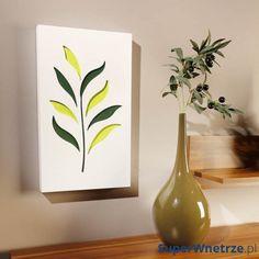 Dekoracja ścienna 30 x 50 cm Vialli Design C-Tru biało-kolorowa 5905933238672