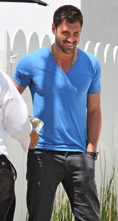 Maksim Chmerkovskiy can teach me how to dance anytime :)