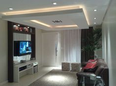 All Time Best Cool Ideas: Contemporary False Ceiling Crystal Drop false ceiling wedding flower.False Ceiling 2017 false ceiling living room with tv unit.False Ceiling Home Bedrooms. House Ceiling Design, Ceiling Design Living Room, Bedroom False Ceiling Design, False Ceiling Living Room, Ceiling Decor, Tiny House Design, Ceiling Ideas, Ceiling Lights, Teen Room Designs