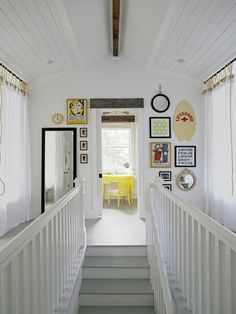 Sleeping Loft, Contemporary Staircase