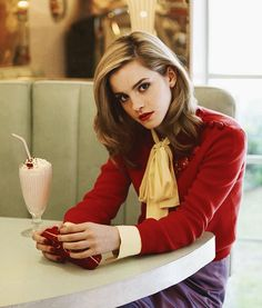 Emma Watson...I don't know why, but this is one of my favorite pictures of her.