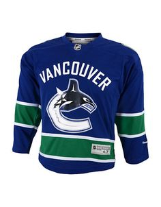 NHL Vancouver Canucks Replica Youth Jersey 14c39b291