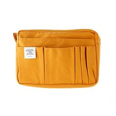 Delfonics Stationery Case Bag In Bag - M Size - Yellow: Amazon.co.uk: Office Products