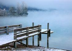 'Peaceful, misty lake' by Hercules Milas