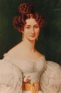 Eugénie de Beauharnais, Princess of Hohenzollern-Hechingen, 1826 (Joseph Karl Stieler) (1781-1858) Location TBD