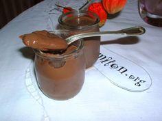 Crème dessert facile au chocolat - Recette de cuisine Marmiton : une recette
