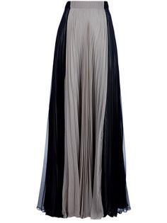 Maison Martin Margiela pleated maxi skirt!