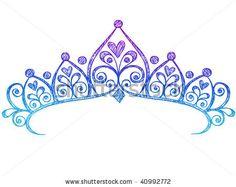 tiara princess clipart clip art instant download crown silhouette rh pinterest com tiara clip art free tiara images clipart