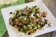 Lisa King, of Freedom Farms' Farm Kings shares her delicious recipe for Black Bean Parsley Salad.