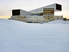 WAF 2013 Office Winner: Statoil Regional and International Offices, Norway