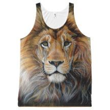 BOLD LION All Over Print Tank Top All-Over Print Tank Top