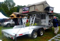Check out a brief article written about the Acorn Expedition Trailer during the Overland Expo East at The Biltmore. Off Road Trailer, Trailer Build, Off Road Camper, Car Trailer, Utility Trailer, Teardrop Trailer, Utv Trailers, Custom Trailers, Hauling Trailers