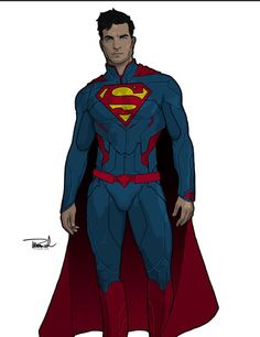 #Superman redesign