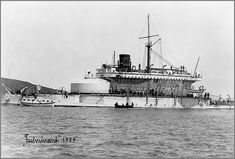 Tonnerre-class French coastal defence ironclad battleship Fulminant in 1885. source