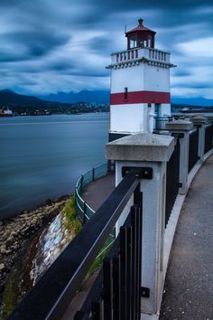 Brockton Point Lighthouse Stanley Park Vancouver Canada49.3009,-123.1169   by Allan Orbigo, via 500px