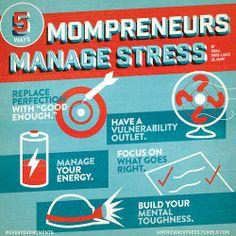 5 Ways Mompreneurs Manage Stress
