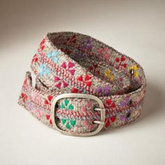The felted flowers #belt is one of our best-sellers. Do you love it? See more styles at www.jennykrauss.com