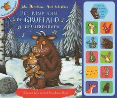 De Gruffalo boeken zijn er nu ook met geluidsknopjes. Een heel erg leuke toevoeging, ideaal om de aandacht van peuters en kleuters er bij te houden!