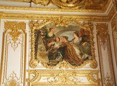 Palace of Versailles, the Queen Bedroom. XVIII century.