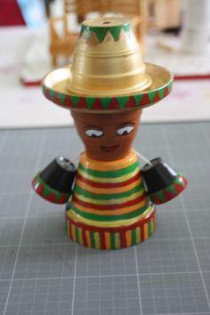petit mexicain pot en terre cuite