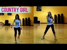 Luke Bryan - Country Girl (Shake It For Me)   Dance Fitness with Jessica - YouTube