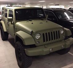 What is your favorite Jeep model? Green Jeep Wrangler, Jeep Rubicon, Jeep Cars, Jeep Truck, Jeep Jeep, Jeep Verde, My Dream Car, Dream Cars, Dream Life