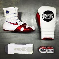 Nike Air Jordan Boxer I Xi White Red Roy Jones Jr Pe 12