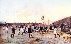Thomas Hemy, The Corner Kick, 1895. Sunderland, Stadium of Light