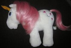 My Little Pony Vintage Hasbro Softies Plush U Pick by LuvThe80s, $16.99