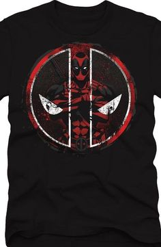 Deadpool Merc with an Emblem T-Shirt - Marvel Comics T-Shirt