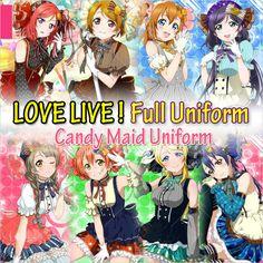 Japonais-Anime-Love-Live-Tojo-Umi-Koroti-Eli-Hanayo-Nico-Rin-Honoka-De-Bonbons-Maid-Uniforme.jpg (800×800)