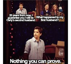 ICarly Freddie////Hahaha I can think of many reasons as to what happened to the 2nd husband xD