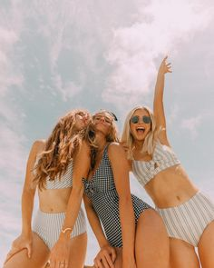 SUMMER LOVING! Grab your best friends and a new Albion swimsuit for the summer! Whether you like trendy one-piece swimsuits or sexy two-piece swimsuits, we've got you covered! Show off those summer abs, while maintaining a modest look in these classy suits. To see more styles, head to albionfit.com #swimsuit #swimwear #swim #summer #friends #bestfriends #bffs #adventure