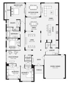 Latitude, New Home Floor Plans, Interactive House Plans - Metricon Homes - Queensland
