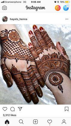 Mehndi Designs Book, Finger Henna Designs, Indian Mehndi Designs, Mehndi Designs For Girls, Mehndi Designs 2018, Stylish Mehndi Designs, Mehndi Design Photos, Mehndi Designs For Fingers, Wedding Mehndi Designs