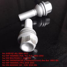 Wheel Lug Nuts 7L0 601 139A  WHT 002 529  WHT 004 676  For AUDI Q7 For VW TOUAREG  MULTIVAN V  TRANSPORTER V  AMAROK  1 pcs