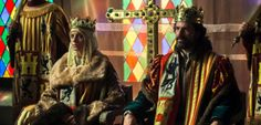 Michelle Jenner and Rodolfo Sancho as the Catholic Monarchs Isabella and Ferdinand in Spanish historical television series Isabel #fernando #spain #castilla #history