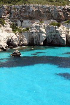 Menorca mar blava,  Islas Baleares  Spain