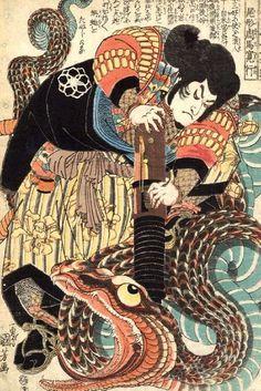 Utagawa Kuniyoshi - Eight Hundred Heroes of Our Country
