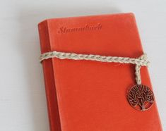 Crochet Loop, Tree Pendant, Leather Art, Metal Tree, Jute Twine, Orange Leather, Alex And Ani Charms, First Names, Charmed