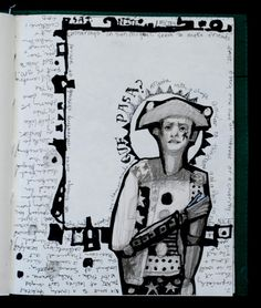 Anne Bagby from Mexican sketch book