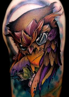 Love the colors... Not the tattoo so much
