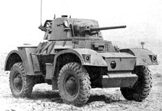 Picture of the Daimler Armored Car