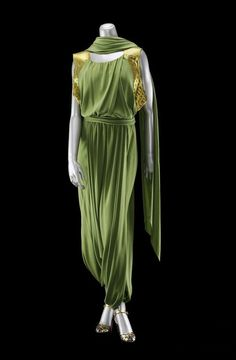 Evening Ensemble Jeanne Lanvin, 1935 The Museum of Fine Arts, Boston 1930s Fashion, Moda Fashion, French Fashion, Retro Fashion, Vintage Fashion, Womens Fashion, Ladies Fashion, Fashion Fashion, Jeanne Lanvin