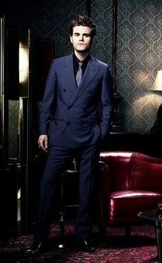 The Vampire Diaries - Paul Wesleay as Stefan Salvatore - the gentleman