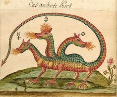 Alchemy:  Zoroaster Clavis Artis, Ms-2-27, Biblioteca Civica Hortis, Trieste, vol. 3, pag. 34, 1738.  An #Alchemy artwork.