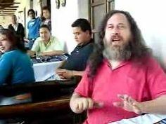 Richard Stallman Free software Song - YouTube