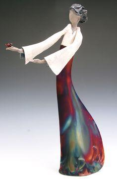 Judy Geerts : Raku pottery
