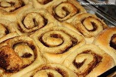 warm cinnamon rolls